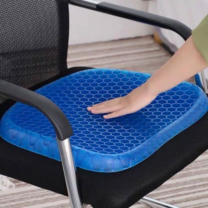 SHOP-STORY - Coussin d'assise thérapeutique à mémoire de forme avec gel et revêtement antidérapant - Cdiscount Maison