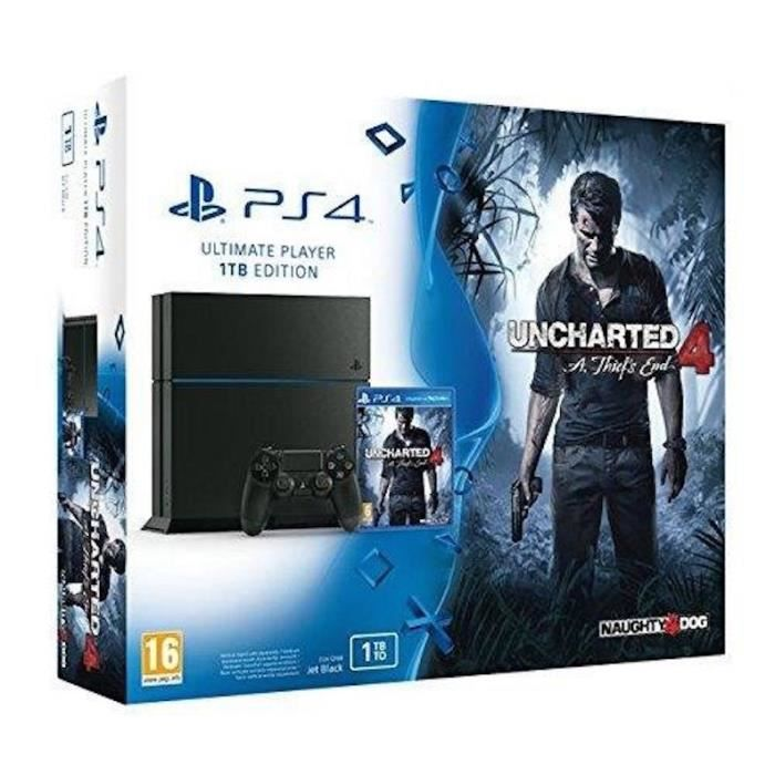 console ps4 1 tb bundle uncharted 4 achat vente console ps4 console ps4 1 tb bundle. Black Bedroom Furniture Sets. Home Design Ideas