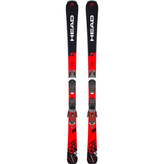 HEAD Skis alpin V-Shape V6 + PR11 GW - Mixte