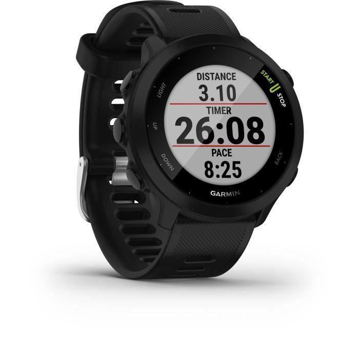 GARMIN Forerunner 55 - Montre connectée GPS - Noir