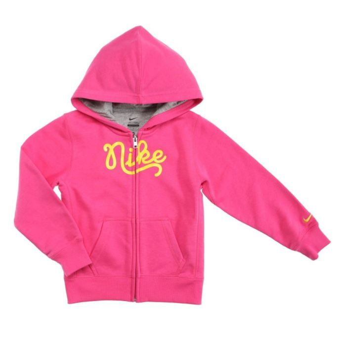nike veste sweat zipp e enfant fille rose achat vente sweatshirt nike sweat enfant fille. Black Bedroom Furniture Sets. Home Design Ideas