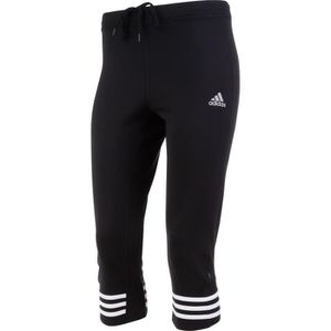 COLLANT DE RUNNING ADIDAS Leggings 3/4 de running - Femme - Noir