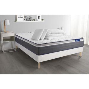 ENSEMBLE LITERIE Pack prêt à dormir matelas ACTILATEX PLUS 200x200