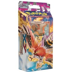 CARTE A COLLECTIONNER POKEMON XY FLAMBUSARD DECK VENTS AEDENTS STARTER C