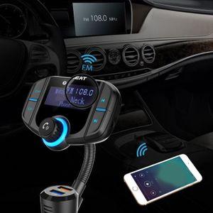 CHARGEUR CD VOITURE Sans fil Bluetooth de voiture USB Chargeur Transme