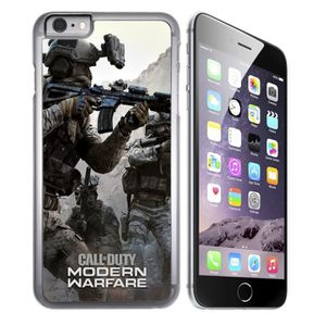 coque iphone 6 plus 6s plus call of duty moder