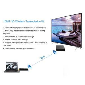CÂBLE RÉSEAU  Banconre®Transmetteur et récepteur HDMI vidéo sans