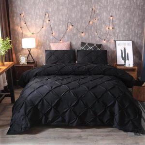 HOUSSE DE COUETTE SEULE Parure de lit 3 sets de 220x240cm 100% Polyester h