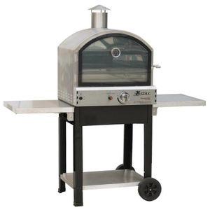 FOUR À PIZZA Barbecue four à pizza à gaz professionnel acier in