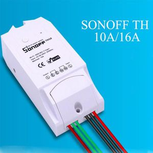 INTERRUPTEUR ÉLECTRO. KEKE-Sonoff TH10 Interrupteur sans fil WiFi Intell