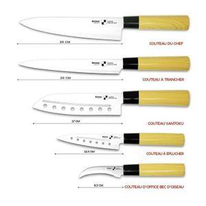 COUTEAU DE CUISINE  gamme couteau de cuisine inedit 310602 Bloc Coutea