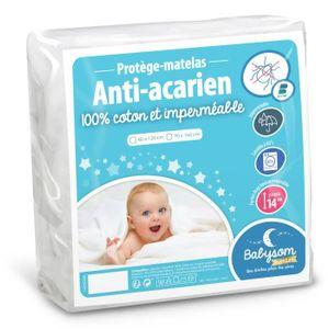 PROTECTION MATELAS  Babysom - Protège Matelas / Alèse Bébé - 70 x 140