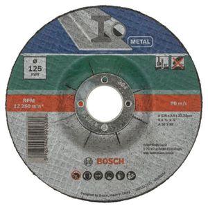 ACCESSOIRE MACHINE Disque à tronçonner diamètre 125 X 5 pcs - BOSCH