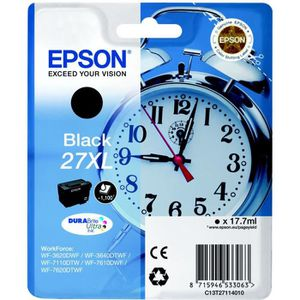 CARTOUCHE IMPRIMANTE EPSON Pack de 1 Cartouche 27XL - Noir - Haute capa