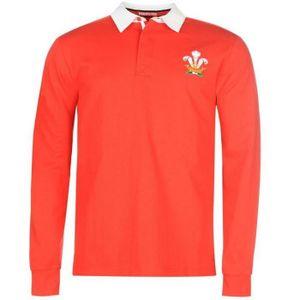 MAILLOT DE RUGBY Polo de Rugby Homme Pays de Galles