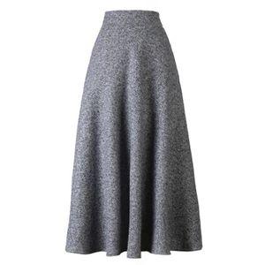 JUPE jupe longue évasée à taille haute pour femmes 1I6L