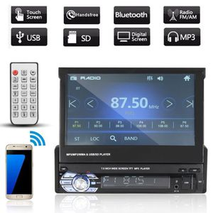 AUTORADIO NEUFU 7  Bluetooth Autoradio Stéréo 1 DIN MP3 MP4