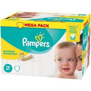 COUCHE Pack 240 Couches Pampers New Baby - Premium Protec