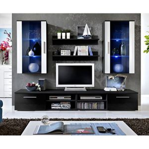 meuble tv a suspendre achat vente meuble tv a. Black Bedroom Furniture Sets. Home Design Ideas