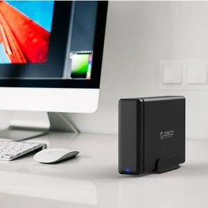 HOUSSE DISQUE DUR EXT. Boîtier disque dur 3.5 pouces USB 3.0 1-bay de typ