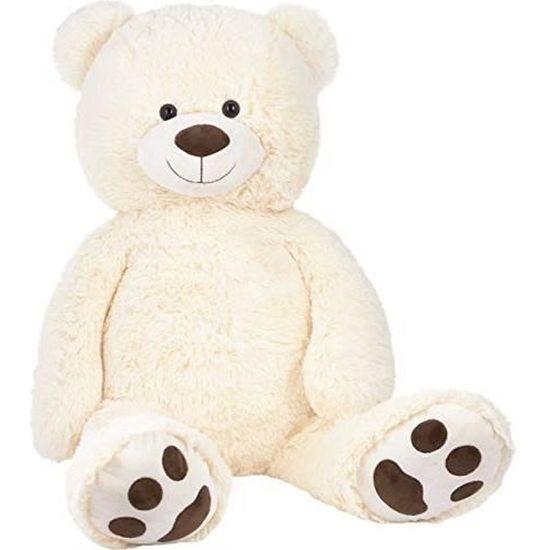 Ours mignon ours blanc foulard rouge avec Mère et Bébé Ours Cadeau de Noël