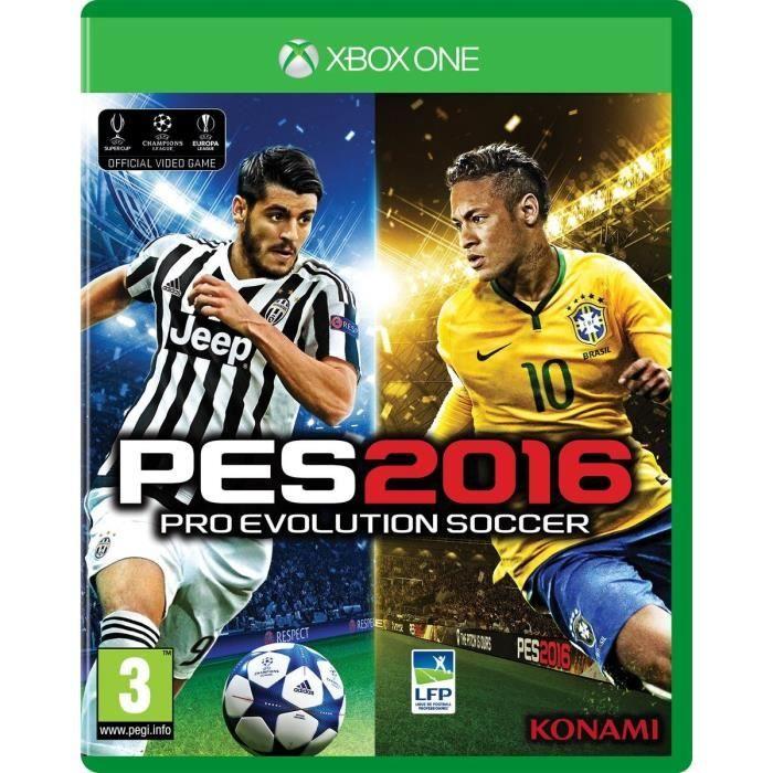 JEU XBOX ONE PES 2016 Jeu Xbox One