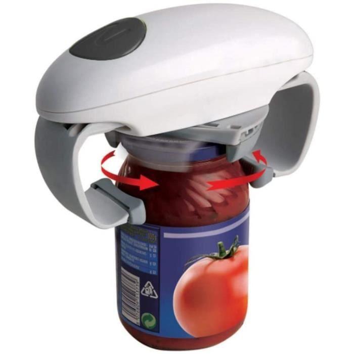 Ouvre-bocal Automatique,Ouvre-boîtes Automatique Ouvre-bouteille Électrique En Conserve Ouvre-bocal Outils De Cuisine Outils