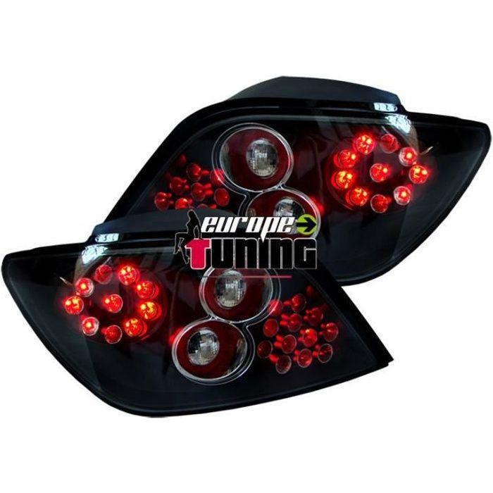feux arrières design, noir, LED 307, 5-portes 97-01 version à hayon pour: Peugeot 307 Lim./SW/Break 01-05