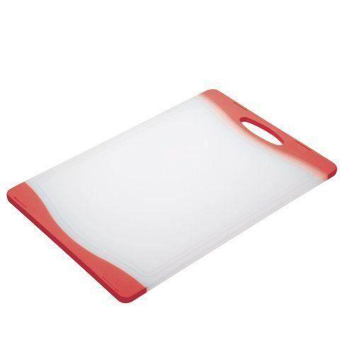 Colourworks Planche à découper réversible (Rouge)