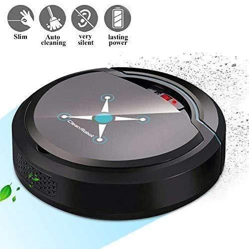 Rain 10 pcs Aspirateur Robot Nettoyeur et Laveur 3 en 1,Aspiration Puissante Capteur Intelligent,Autonomie de 100 Minutes,Les