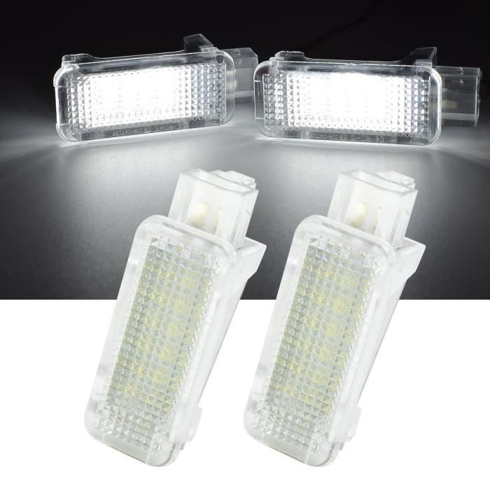 Projecteur LED verse Porte, Coffre, Cafefre, Coffre, Bagage, Pour Audi A2 A3 A3 A4 A6 TT Q5, Pour VW Passat B