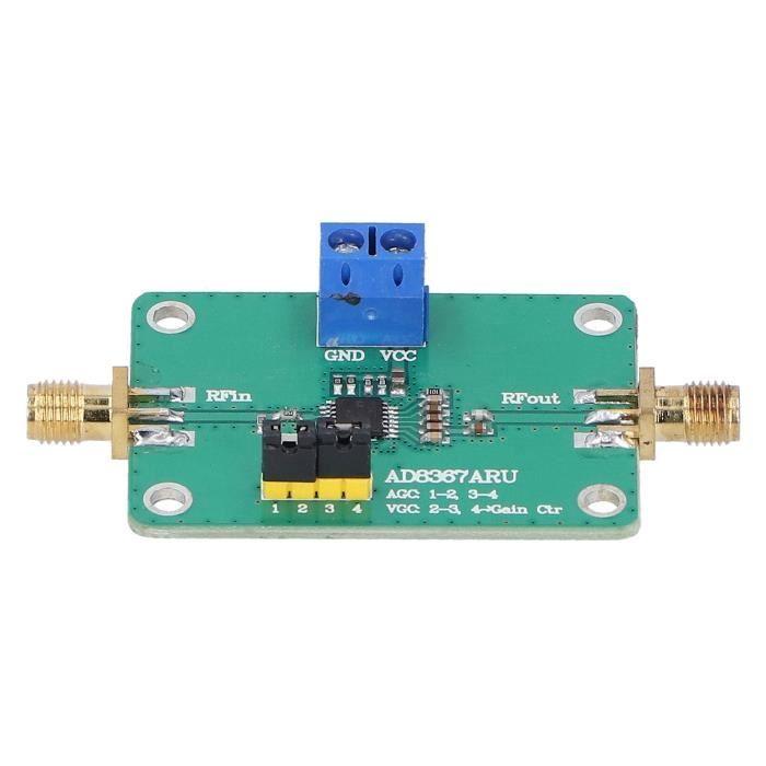 Module d'amplificateur IF, carte PCB d'amplificateur IF durable, composant électronique, amplificateur IF AD8367, haute qualité