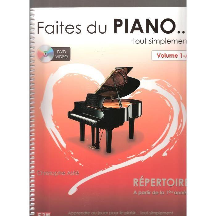 Faites du Piano .. tout simplement avec DVD inclus