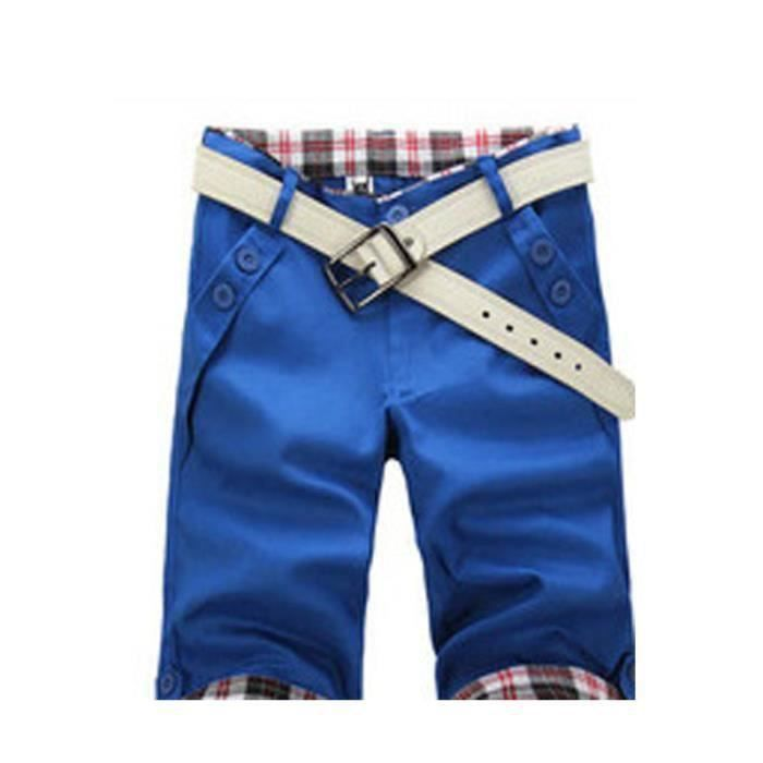 FUNMOON - Short Homme Coton Shorts Homme
