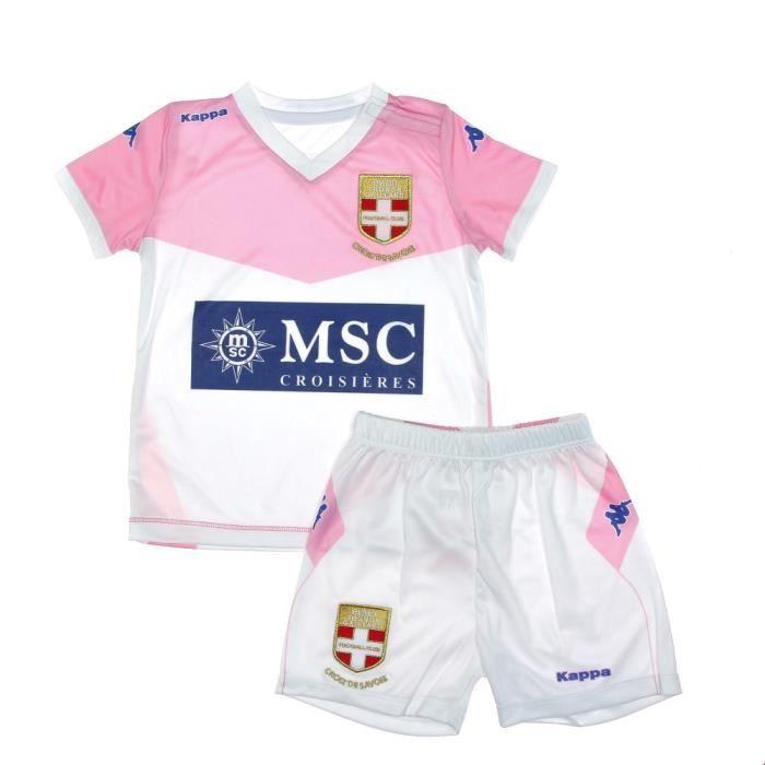 Mini Kit Bébé Evian Thonon Gaillard FC Kappa