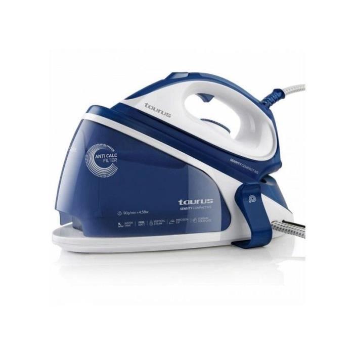 Fer à repasser générateur de vapeur Taurus Sensity Compac NS 1 L 90 g/min 2200W Bleu Blanc
