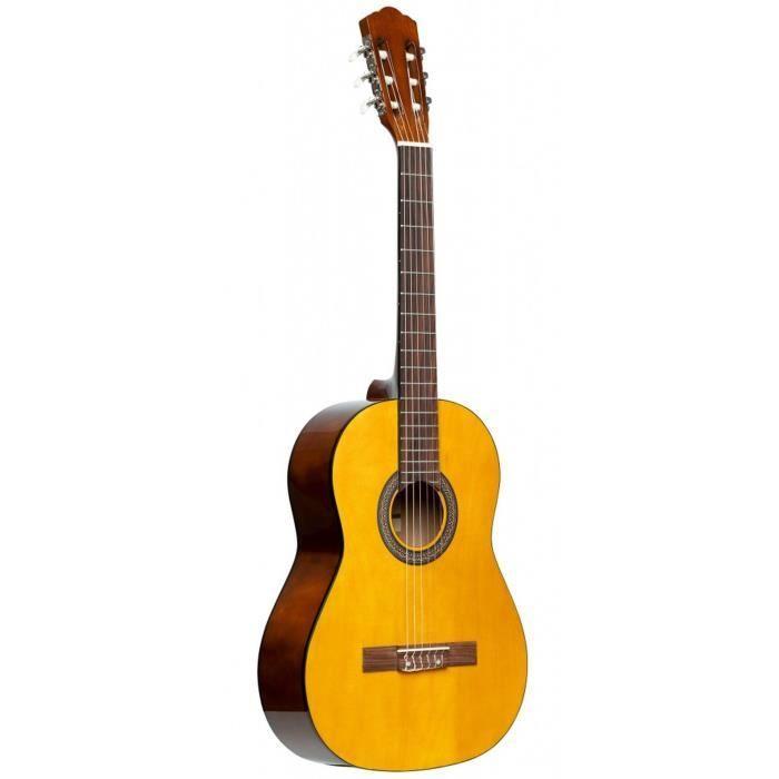 STAGG Pack guitare classique SCL50 4/4 - Naturel