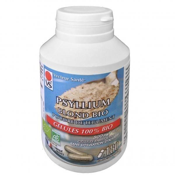 Psyllium Blond Bio - 180 gélules