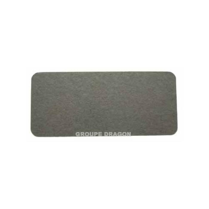 Plaque mica 4.6 cm x 10.4 cm pour micro ondes WHIRLPOOL 3098671 - plaque à découper pour la version - BVMPièces