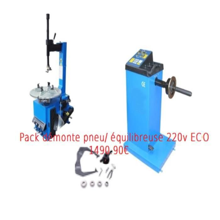 pack machine d monte a demonter pneu quilibreuse eco 220v 230v 230 220 volts v achat. Black Bedroom Furniture Sets. Home Design Ideas