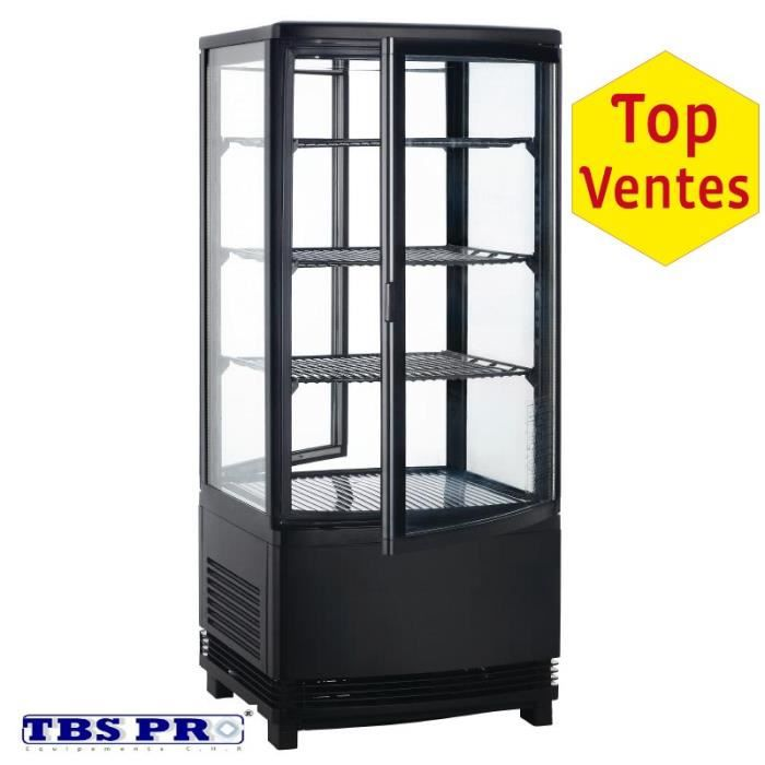 vitrine r frig r e 4 c t s vitr s 86 litres achat. Black Bedroom Furniture Sets. Home Design Ideas
