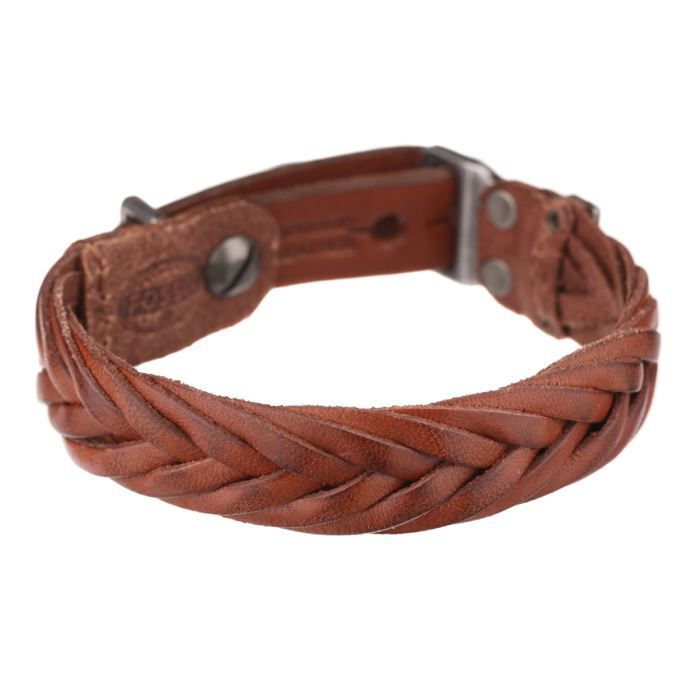 fossil bracelet ja6120797 homme marron achat vente bracelet gourmette fossil bracelet. Black Bedroom Furniture Sets. Home Design Ideas