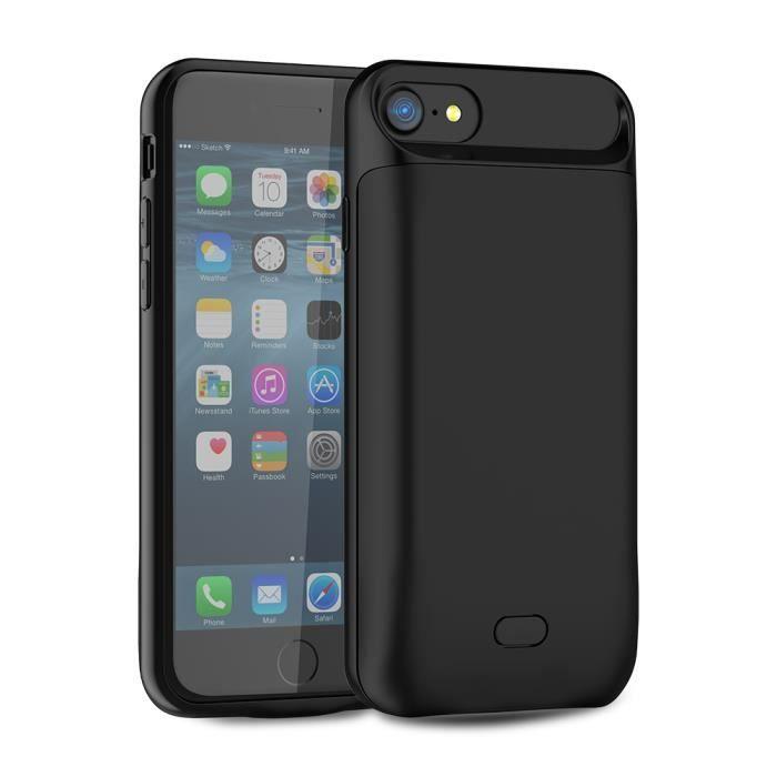 coque batterie iphone 7 iphone 8 5000 mah portab