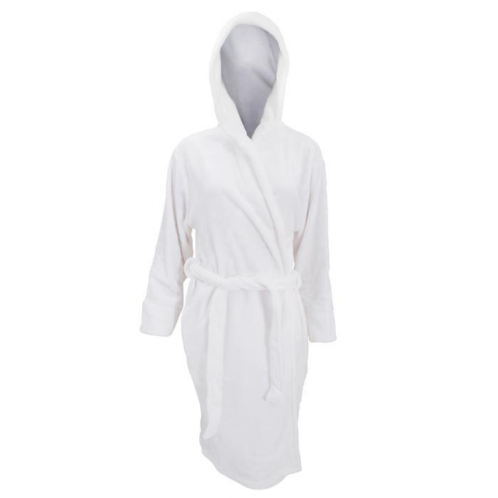 ROBE Robe de chambre en polaire douce - Femme