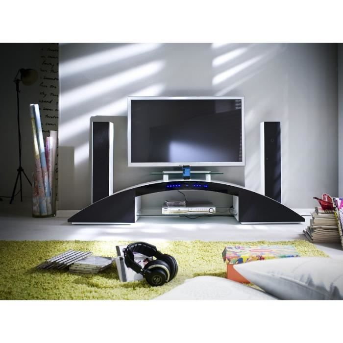home cinema blanc. Black Bedroom Furniture Sets. Home Design Ideas