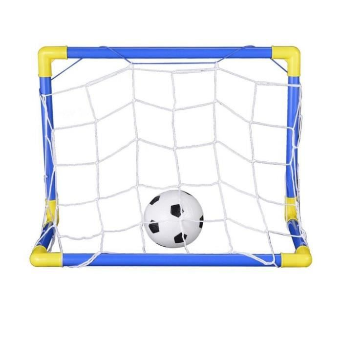 But de foot fun 1,8 x 1,2m Bleu et jaune