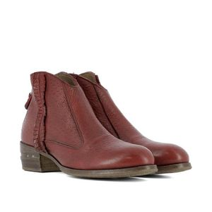32702546PECARYROSSORED FEMME ROUGE BOTTINES CUIR MOMA zpPvqn