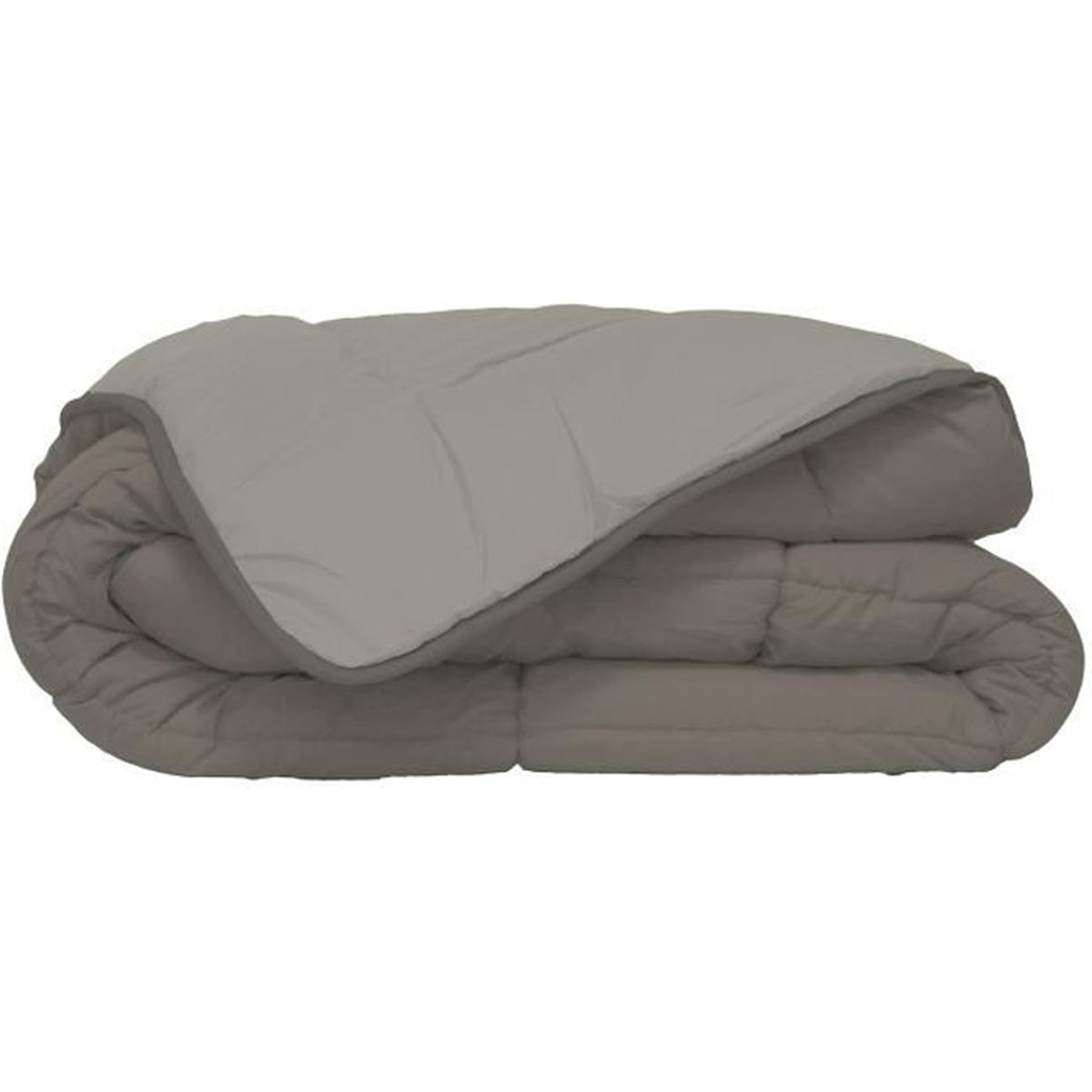 COUETTE Couette Microfibre 400g/m² CALGARY Taupe & Lin 220