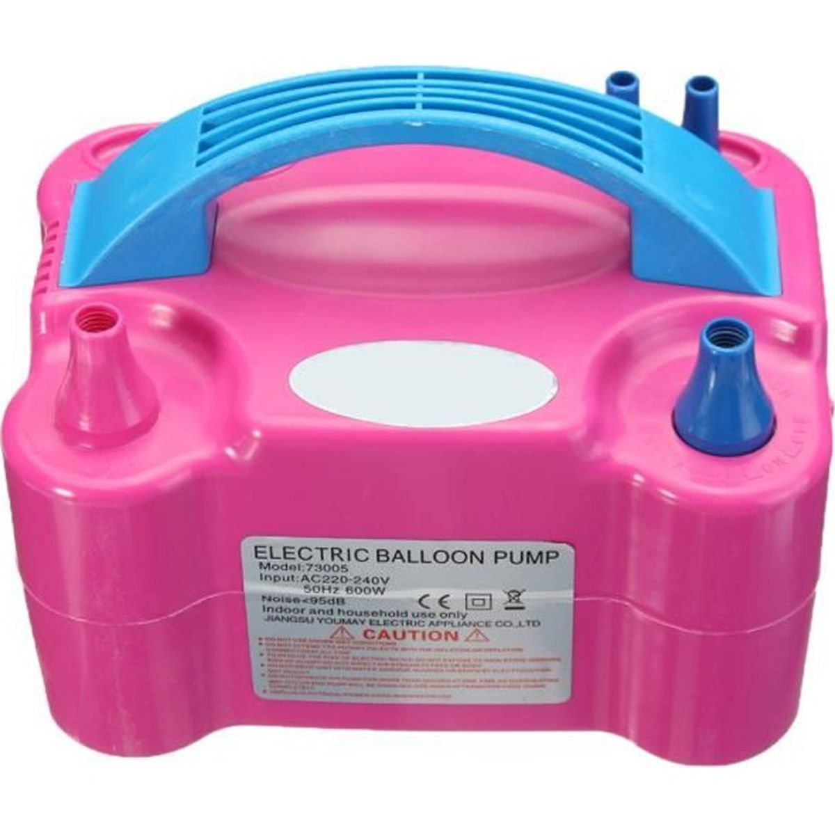 Gonfleur Ballon Electronique Portable,Morpilot Pompe dAir Intelligent avec Aiguilles pour Football,Basket-Ball,Volley-Ball et Bouée AP1