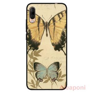 COQUE - BUMPER Coque pour Wiko View3 Lite Smartphone Papillon sil